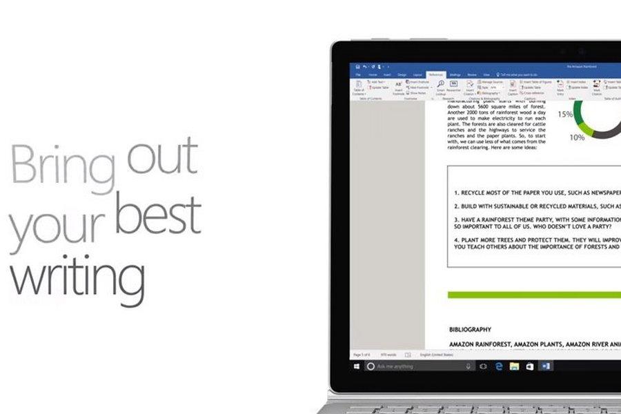 Office365 Samenwerking aan documenten–Word Online