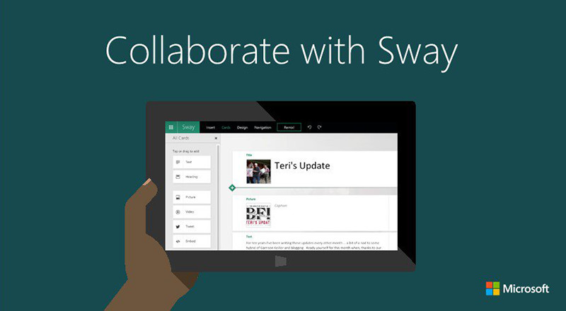 Sway it with Office365
